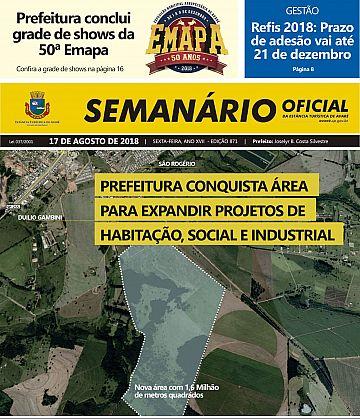 Semanário Oficial - Ed. 871