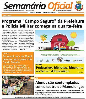 Semanário Oficial - Ed. 821