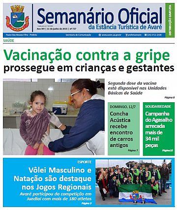 Semanário Oficial - Ed. 727