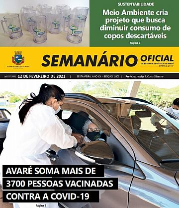 Semanário Oficial - Ed. 1001