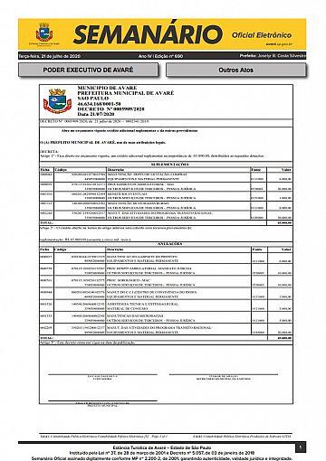 Semanário Oficial - Ed. 690