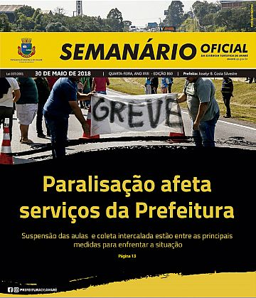 Semanário Oficial - Ed. 860