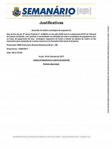Semanário Oficial - Ed. 50