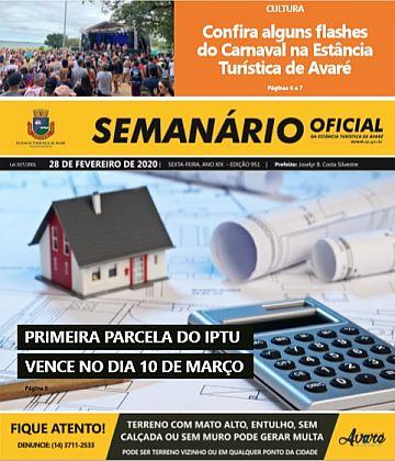 Semanário Oficial - Ed. 951