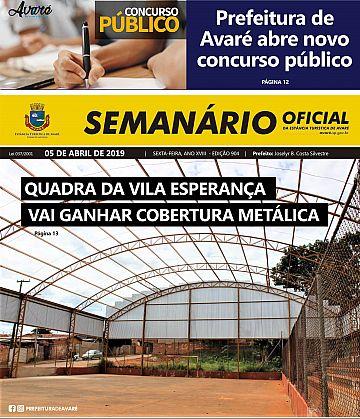 Semanário Oficial - Ed. 904