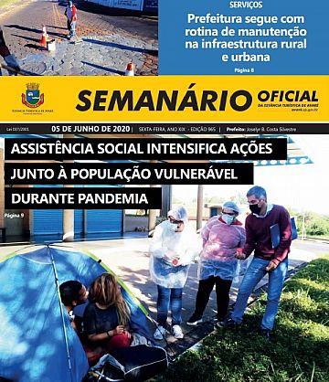 Semanário Oficial - Ed. 965