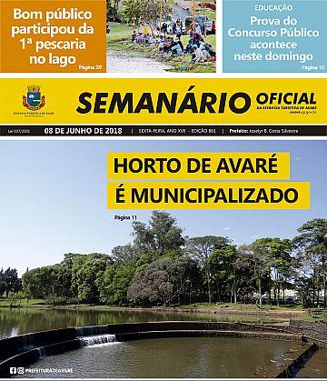 Semanário Oficial - Ed. 861