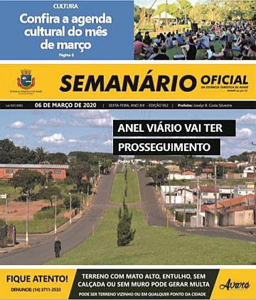 Semanário Oficial - Ed. 952