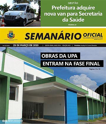 Semanário Oficial - Ed. 903