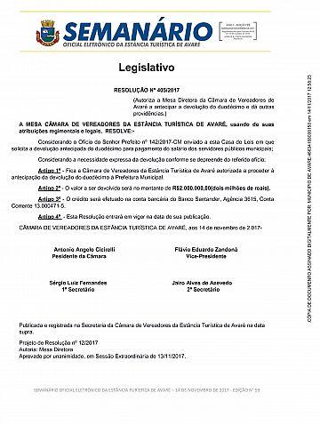 Semanário Oficial - Ed. 59