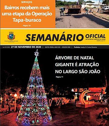 Semanário Oficial - Ed. 990