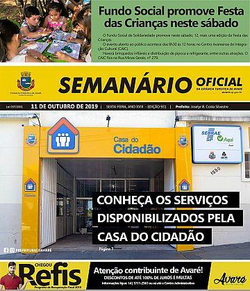 Semanário Oficial - Ed. 931