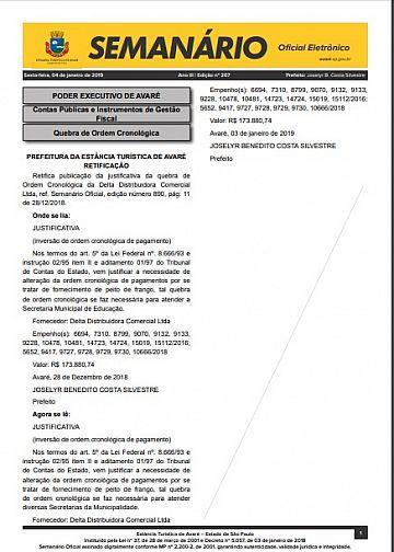 Semanário Oficial - Ed. 267