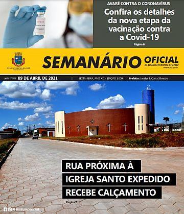 Semanário Oficial - Ed. 1009