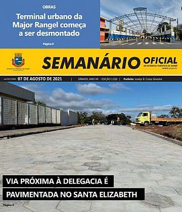 Semanário Oficial - Ed. 1026