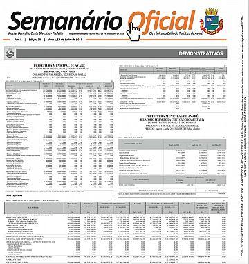 Semanário Oficial - Ed. 30