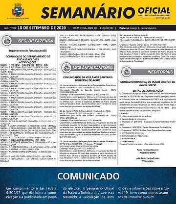 Semanário Oficial - Ed. 980
