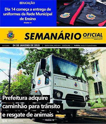 Semanário Oficial - Ed. 891