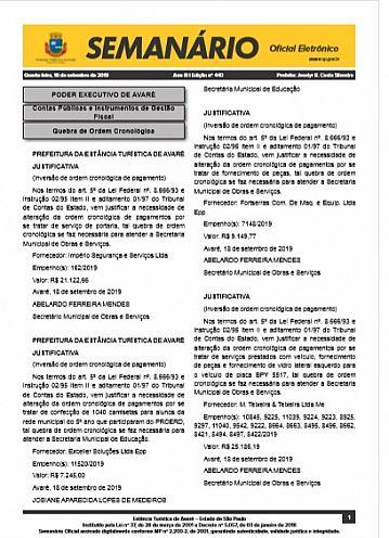 Semanário Oficial - Ed. 440