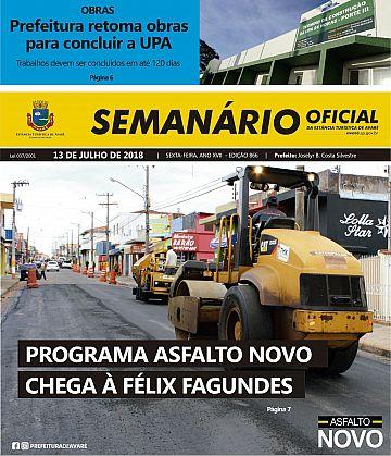 Semanário Oficial - Ed. 866