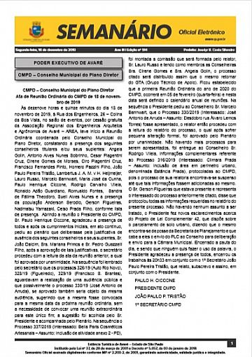 Semanário Oficial - Ed. 514