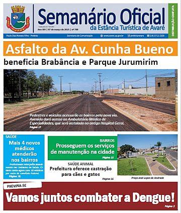 Semanário Oficial - Ed. 709