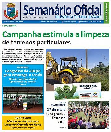 Semanário Oficial - Ed. 716