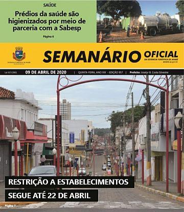 Semanário Oficial - Ed. 957