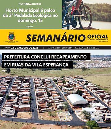 Semanário Oficial - Ed. 1027
