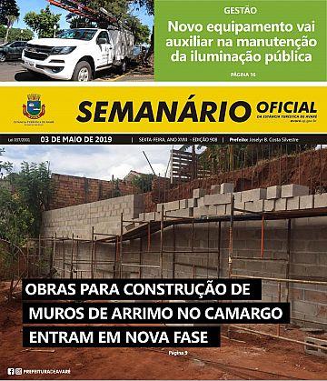 Semanário Oficial - Ed. 908