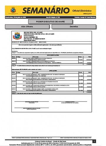 Semanário Oficial - Ed. 379