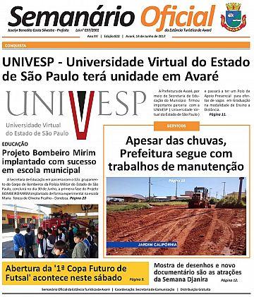 Semanário Oficial - Ed. 822