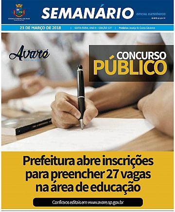 Semanário Oficial - Ed. 127