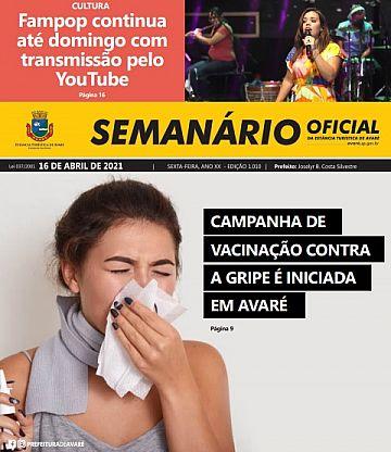 Semanário Oficial - Ed. 1010