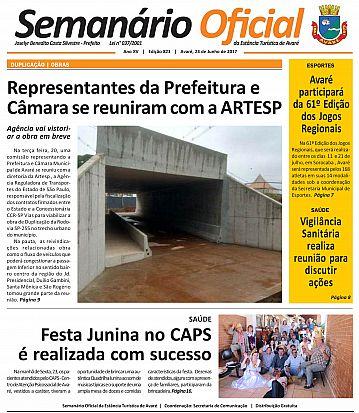 Semanário Oficial - Ed. 823