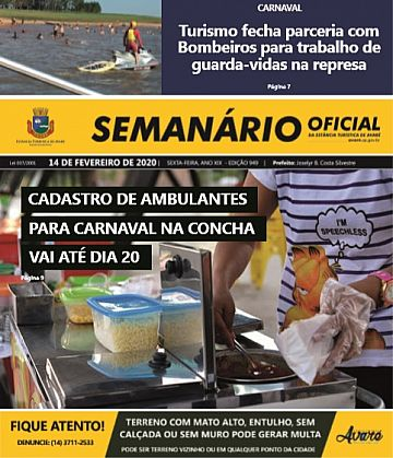 Semanário Oficial - Ed. 949