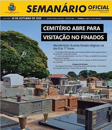 Semanário Oficial - Ed. 986
