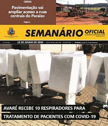Semanário Oficial - Ed. 967