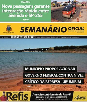Semanário Oficial - Ed. 935