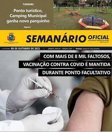 Semanário Oficial - Ed. 1035