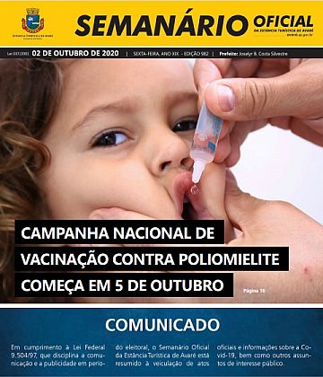 Semanário Oficial - Ed. 982
