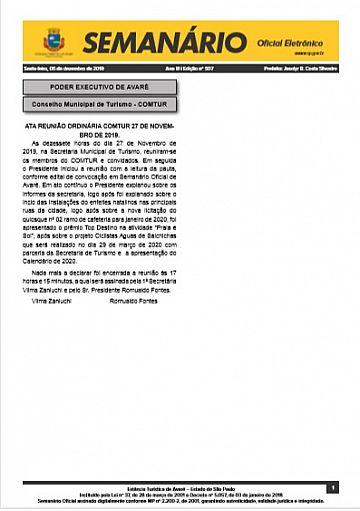 Semanário Oficial - Ed. 507