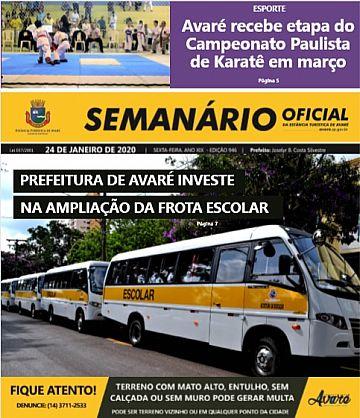 Semanário Oficial - Ed. 946