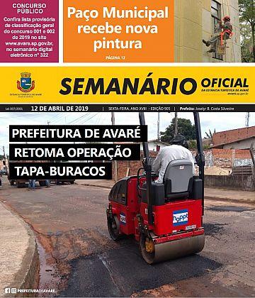 Semanário Oficial - Ed. 905
