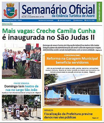 Semanário Oficial - Ed. 715