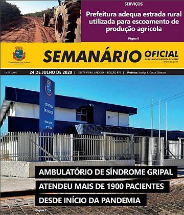 Semanário Oficial - Ed. 972