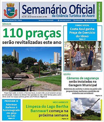 Semanário Oficial - Ed. 708