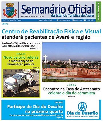 Semanário Oficial - Ed. 720