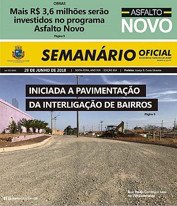 Semanário Oficial - Ed. 864