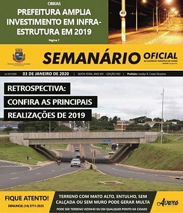 Semanário Oficial - Ed. 943